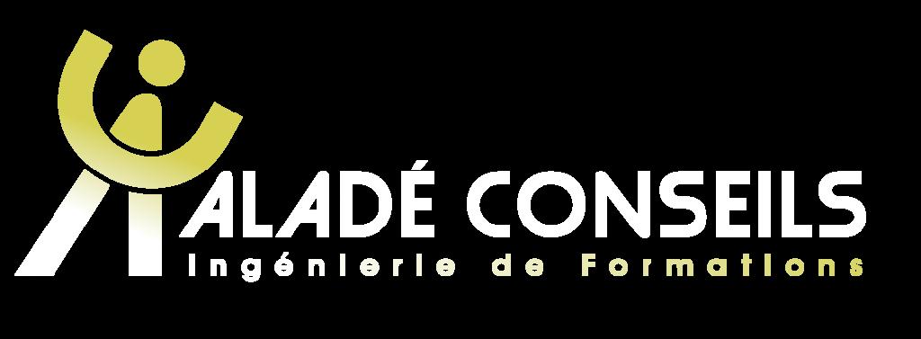 Logo aladé blanc
