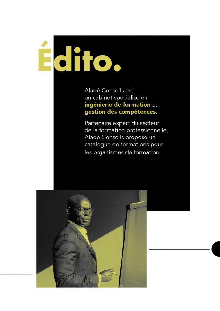 Edito Aladé Conseils
